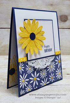 Oh this Daisy Delight Bundle! So many possibilities! Details on my blog . . . www.stampingeorgia.com