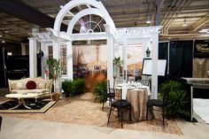 August 2012 Southern Bridal Show & Expo Booth Design for Highgrove Estate #wedding #venue