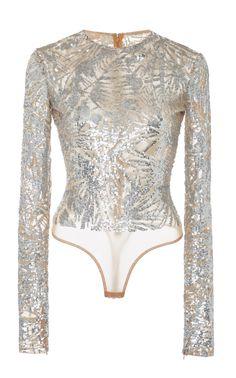 AKIRA Womens Sheer Overlay V Bodysuit Keyhole Back Blouse Bodysuit