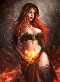 Desert Sorceress by Solaice