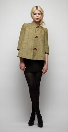 We found our autumn coat already: beautiful shape, ethically sourced and fairly traded. Beautiful Soul AW11 collection