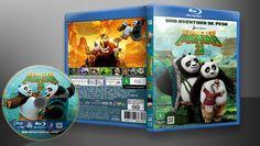 Kung Fu Panda 3 (Blu-Ray) - Capa | VITRINE - Galeria De Capas - Designer Covers Custom | Capas & Labels Customizados