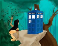 Pocahontas and the TARDIS, classic