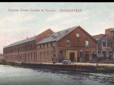 Textiel fabriek .van Jansen en Tilanus. Vriezenveen.