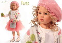 Fee. Коллекционная кукла Хильдегард Гюнцель (Hildegard Huenzel)