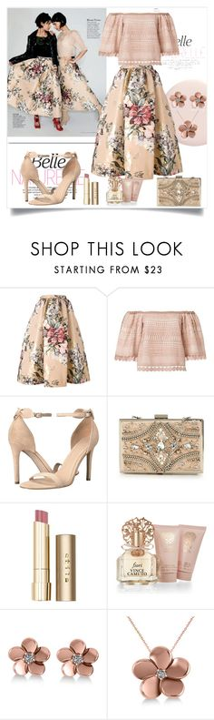 """Untitled #1196"" by misaflowers ❤ liked on Polyvore featuring White Label, Fendi, Alexis, GUESS, Forever Unique, Stila, Vince Camuto and Allurez"