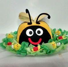Cheeky-Bumble-Bee-Handmade-Easter-Bonnet-Hat-Girls-Boys