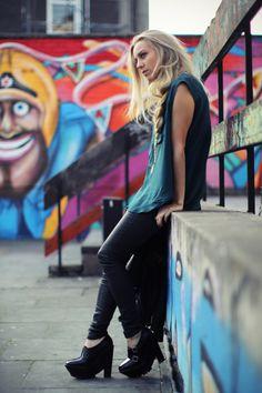 graffiti + fashion DOF                                                                                                                                                                                 More