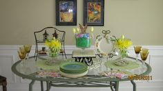 Willow House Easter tablescape design and photo by Jan Seipel.  www.janseipel.willowhouse.com