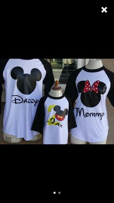 0dbd5d67f Family mickey mouse shirts first time there idea Family Outfits, Family  Clothes, Mickey Mouse