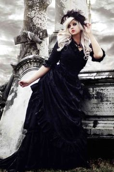Mina Victorian Dracula Gown New Lower Price by RomanticThreads