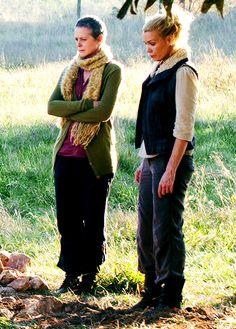 Carol & Andrea, The Walking Dead season 2
