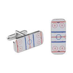 Hockey Cufflinks | Gifts For Hockey Coach, Coaches