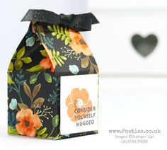 Floral Milk Carton using Stampin' Up! Whole Lot of Lovely
