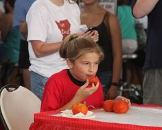 French Market's Creole Tomato Festival - Creole Tomato Eating Contest Kid's Division