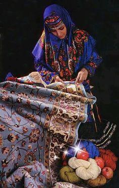 Kurdish Art  Carpet