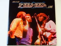 """Bee-Gees Live - """"You Should Be Dancing"""" - """"How Can You Mend a Broken Heart"""" - Disco - RSO Records 1977 - Vintage Vinyl 2LP Record Album by notesfromtheattic on Etsy"""