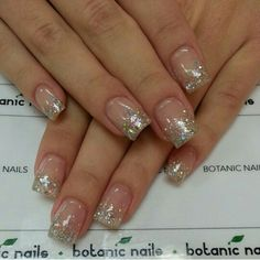 Nail Designs With Glitter Tips Ideas clear nails with glitter tips clear glitter tip nails Nail Designs With Glitter Tips. Here is Nail Designs With Glitter Tips Ideas for you. Nail Designs With Glitter Tips blue glitter tip nail design acry. Clear Glitter Nails, Sparkle Nails, Silver Nails, Blue Glitter, Square Acrylic Nails, Acrylic Nail Designs, Nail Art Designs, Trendy Nails, Cute Nails