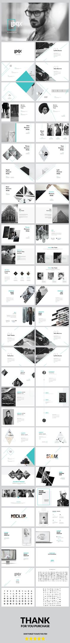 Lddx - Multipurpose Powerpoint Template