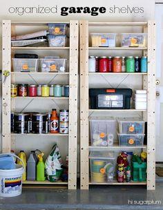Hi Sugarplum | How to Organize your Garage
