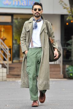 Tabata | A.P.C. used GIORGIO ARMANI THE BINGO BROTHERS Alden UNITED ARROWS NL | 2nd week Dec. 2016 | Daikanyama | Tokyo Street Style | TOKYO STREET FASHION NEWS | style-arena.jp