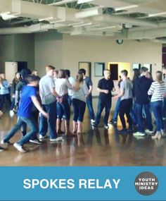 """Simple but really fun game called """"Spokes"""". 4 even teams of however many students. Each team forms a line, making a cross with the 4 teams. Students on each team are given a number (1 to however many are in each team total). Leader stands in middle of cross and yells a number. Students with …"""