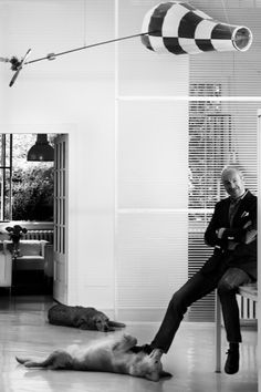 Architect and designer - PIERO LISSONI. He is one of my favorites!