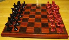 Chess Board Set on Etsy, $110.00