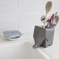 Jumbo Cutlery Drainer by Peleg Design for Monkey Business