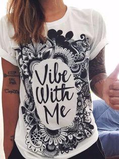 Vibe with Me Crew - Electro Threads™