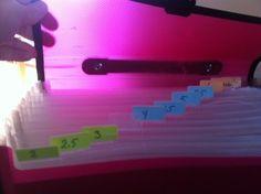 arkivmappe til strikkepinner / for knitting needles!