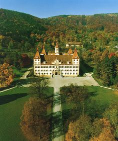City of Graz – Historic Centre and Schloss Eggenberg - Austria (Eggenberg Palace) Oh The Places You'll Go, Great Places, Places To Travel, Places To Visit, Amazing Places, Beautiful Castles, Beautiful Buildings, Beautiful Places, Innsbruck