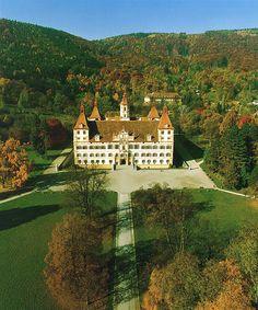 City of Graz – Historic Centre and Schloss Eggenberg - Austria (Eggenberg Palace) Innsbruck, Salzburg, Beautiful Castles, Beautiful Buildings, Beautiful Places, Great Places, Places To See, Amazing Places, Graz Austria