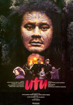 Utu is the story of one Maori's vengeance against the foreign settlers in NZ. Once Were Warriors, Maori Tribe, Maori People, David Carson, Ensemble Cast, The Settlers, Maori Art, Adventure Film, Music Film