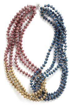 Interlocked in Admiration Necklace | Mod Retro Vintage Necklaces | ModCloth.com - StyleSays