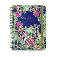 Shop for the 2016-2017 Large Agenda - Southern Charm. The Lilly Pulitzer Large Agenda is here in your favorite prints. Keep your social schedule in order (and in style) with your new planner!