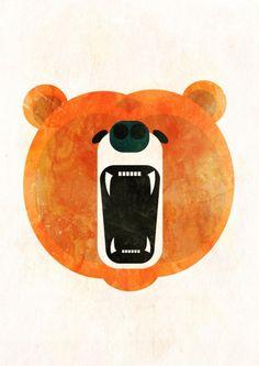 Angry Bear by Alvaro Tapia Hidalgo.