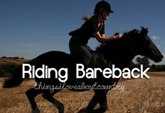 Hey its a GREAT way to build up those leg muscles and to truly tell fi your horse is lame or faking it.