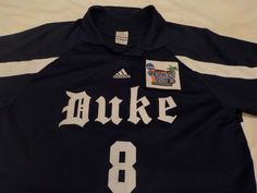 4212beb914d3 Vintage Duke Soccer Adidas Jersey  8 ...NCAA 2004 College Cup...Distressed