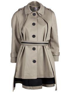 A-line coat from Doo.Ri.  Let it rain!