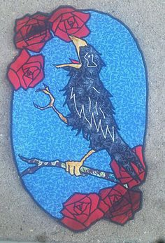 Check out this item in my Etsy shop https://www.etsy.com/listing/559574573/wake-of-the-flood-crow-grateful-dead