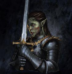 Male Character, Fantasy Character Design, Character Portraits, Character Drawing, Character Design Inspiration, Character Ideas, Orc Warrior, Fantasy Warrior, Fantasy Rpg