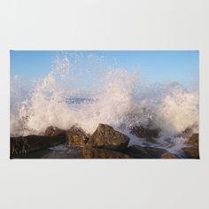 Angry #sea #rug