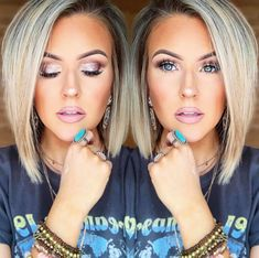 58 Bob hairstyles for 2019 - Hairstyles Trends Medium Hair Styles, Short Hair Styles, Mode Turban, Brown Blonde Hair, Haircut And Color, Grunge Hair, Great Hair, Hair Dos, Pretty Hairstyles