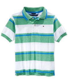 Tommy Hilfiger Boys' Austin Striped Polo Shirt
