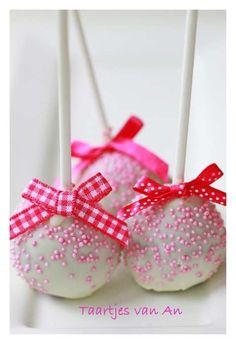 baby girl cake pops. angela loves them