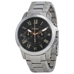 Buy Fossil FS4994  Silver Analog Watch by E TRADERS RETAIL, on Paytm, Price: Rs.9495?utm_medium=pintrest