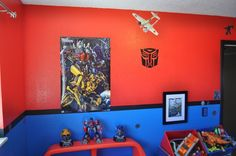 Everything Transformers!!!!!! Bedroom Ideas