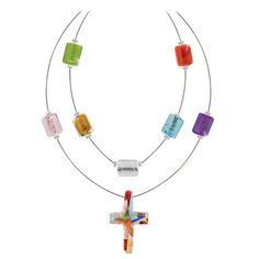Colors of Faith Necklace on SonGear.com - Christian Shirts, Jewelry