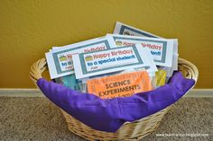 Want to give your students a birthday gift they'll use and remember?